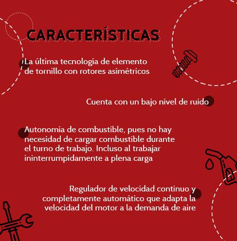 CompresorChicagoPneumatic-Caracteristicas