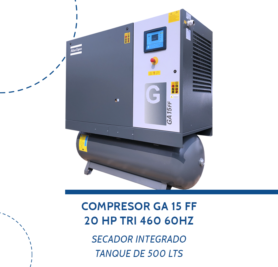 Compresores-STOCK-GA15FF